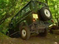 An adventurous Land Rover