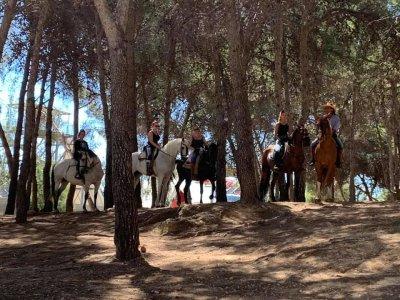 Horseback ride sunrise and breakfast Torremolinos