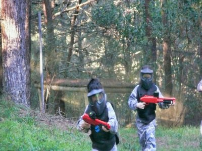 Children's paintball with 100 balls in O Grove