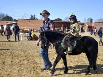 Pony ride in San Sebastián de los Reyes 30 min