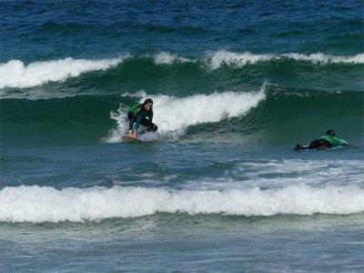 Surf course at Ladeira beach in Corrubedo 3 days