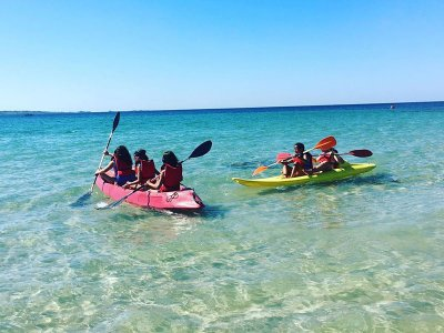 Kayak rental in Ladeira beach in Corrubedo 1h