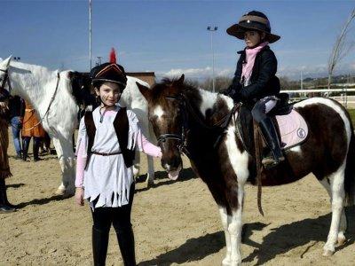 Birthday party with horses in S.Sebastián Reyes
