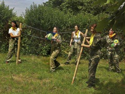 Robin Hood Gymkhana groups Asturias