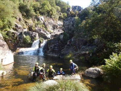 Canyoning and bungee jumping in Ponte Caldelas
