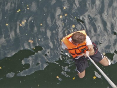 Aquatic gymkhana in Sella river, half day