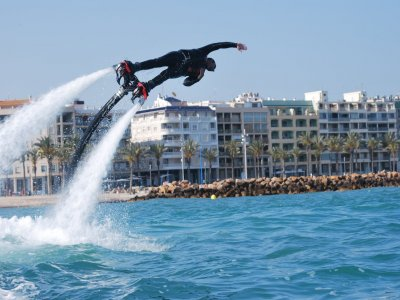 Flyboard and parasailing flight in Torrevieja
