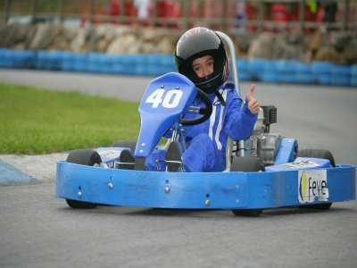 Karting for kids in Soto de Dueñas for 10 mins