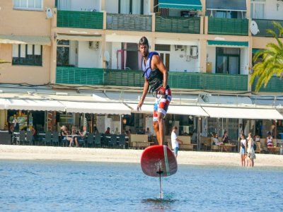 Electric surfboard in Bahía de Alcudia 1h