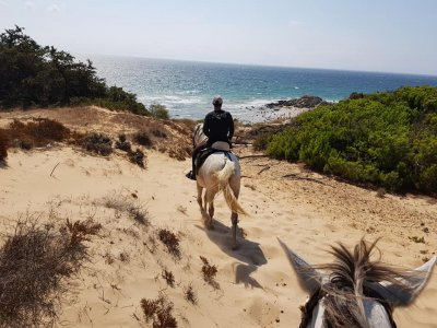 Horse riding route in the Estrecho Natural Park 1h