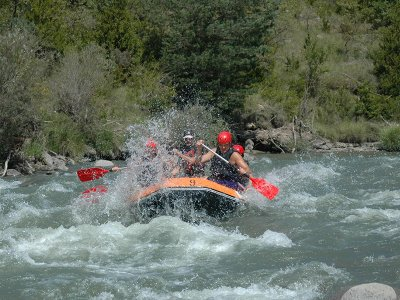 Rafting descent on the Ésera river 2 hours