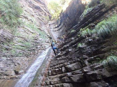Descent of Furco ravine in Torla medium level 2 h