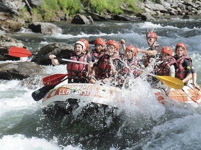 Rafting in Ésera river medium level in Campo 2 h