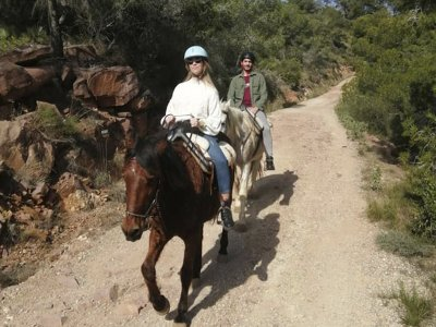 Horseback riding tour Turia Natural Park and lunch