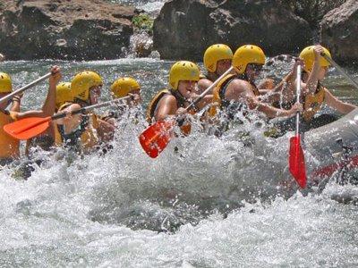 Guadalquivir river rafting Cazorla for beginners