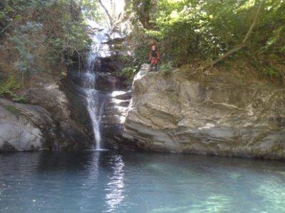 Candís ravine initiation canyoning Valdeorras 3 h