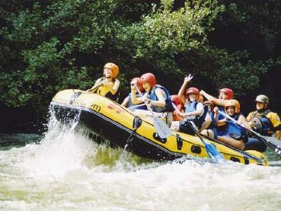 Rafting on the Garona river in Les, Aran Valley 1h