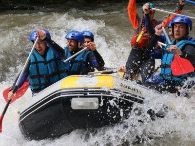 Noguera Ribagorçana river rafting in Pont de Suert