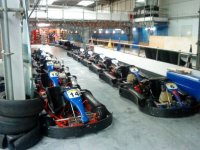 We have a large fleet of karts available