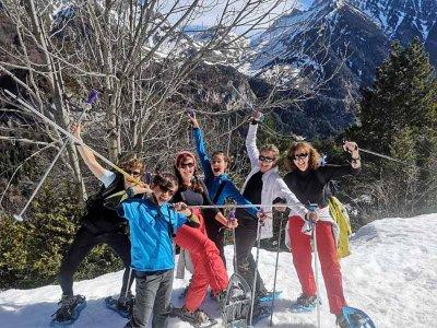 Snowshoeing route for children Valle de Ordesa