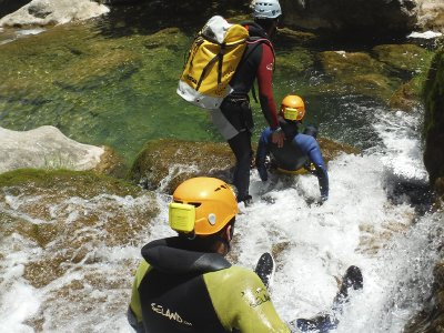 Canyoning in Cerrada del Utrero in Cazorla 4 h