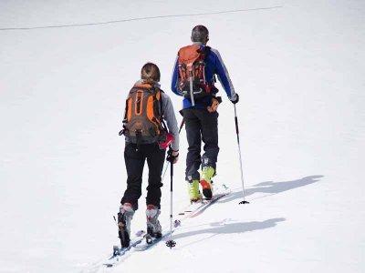 Snowshoes in the forau de Aigualluts Benasque