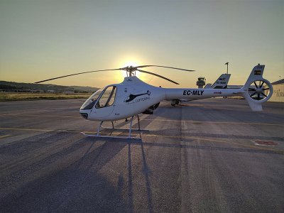 Helicopter flight over Sabadell 20 minutes