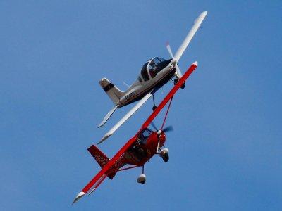 Initiation flight on ultralight San Javier 45 min