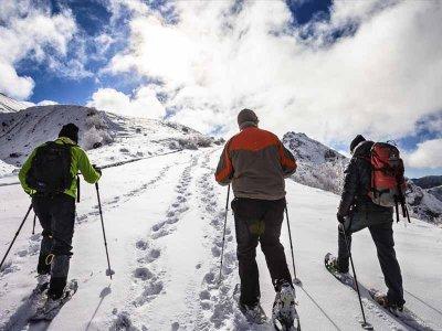 Snowshoeing route Valle del Bosc in Encamp 2h