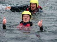 Coasteering at Bass Point