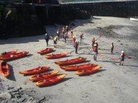 Kayak intro at Mullion
