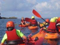 On the water near Mullion island