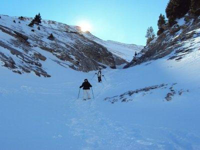 Snowshoeing route Coll de Pal 4 hours