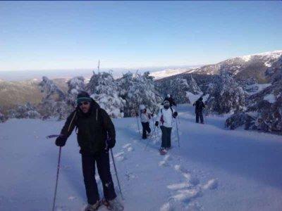 Snowshoe route to Puerto de Somiedo 4 h