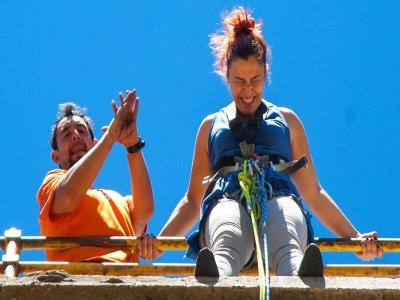 2 bungee jumping and video in Poveda la Sierra