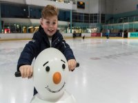 Ice skating for beginners in Guildford Spectrum