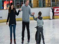 Ice skating with the family in Guildford Spectrum!