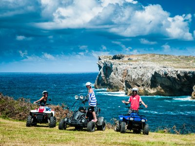 Quad route to the cliffs of Ribadesella 1 hour