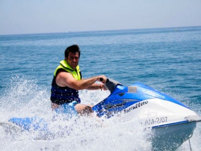 Jet ski route no license Roquetas de Mar 30 min