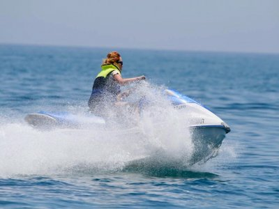 Jet ski route without license Roquetas de Mar 1h