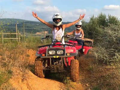Quad route in Sant Sadurní de Noya 1 hour
