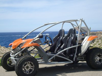 Two-seater buggy rental in Menorca 9 hours