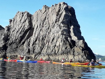 Double kayak rental in Es Figueral 1 hour