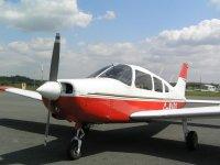 The Piper Warrior at Wolverhampton Flight Training