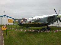 A Spitfire at Wolverhampton Flight Training