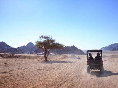 Two-seater buggy route in Corralejo and Lajares 2h