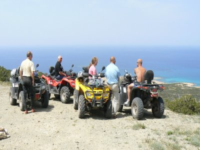 Two-seater quad rental in Alcudia 4 hours