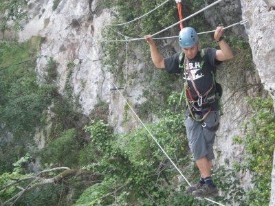 Via Ferrata Foradada del Toscar Expert Level 2 h