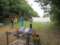 Archery in tag and Hen activities (New Forest and Dorset)