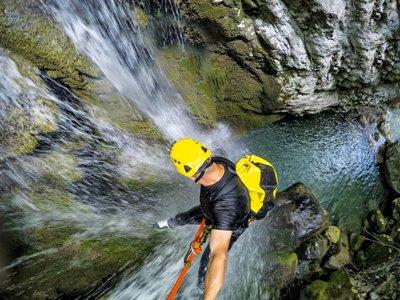 Serandi ravine descent in Proaza 5 hours